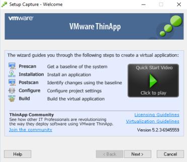 [PORTABLE] VMWare ThinApp Enterprise 5.2.5 Build 12316299 Portable - ENG
