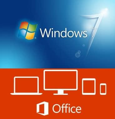 Microsoft Windows 7 Sp1 Ultimate + Office Pro Plus 2019 - Aprile 2019 - Ita