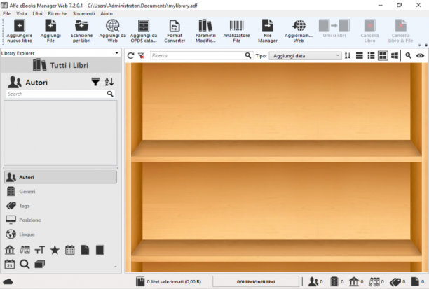 Alfa eBooks Manager Web v7.2.0.1 - ITA