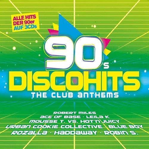VA – 90s Disco Hits The Club Anthems (3CD)  (2018) Mp3