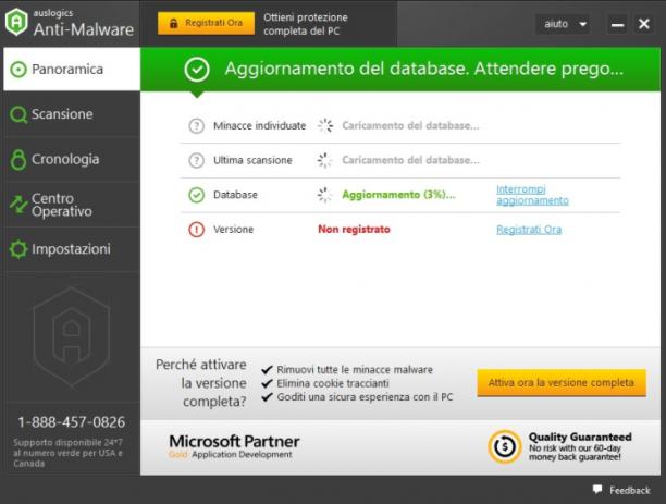 Auslogics Anti-Malware v1.20.0 - ITA