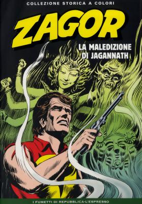 Zagor Collezione Storica a Colori 055 - La maledizione di Jagannath (2013) - ITA