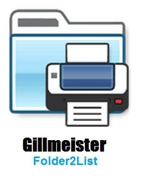 [PORTABLE] Gillmeister Folder2List 3.16.1 Portable - ENG