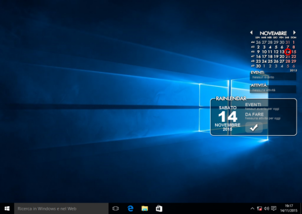 Rainlendar Pro 2.15.3 Build 165 - ITA