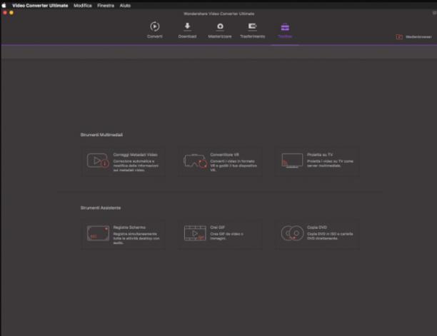 [MAC] Wondershare Video Converter Ultimate for Mac 10.3.0.10 - ITA