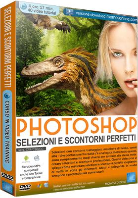 GDF Photoshop N.92 - Videocorso Avanzato Photoshop Selezioni e Scontorni Perfetti - ITA