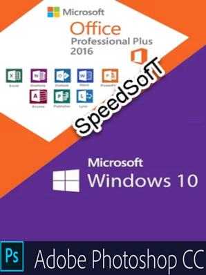 Microsoft Windows 10 Pro VL v1809   Adobe PS & Office 2016 Pro Plus - Novembre 2018 - Ita