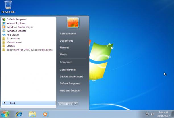 Microsoft Windows 7 Sp1 Thin PC 32 Bit - Luglio 2021 - Ita