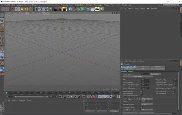 Maxon CINEMA 4D Studio Full R19.053 64 Bit - ITA