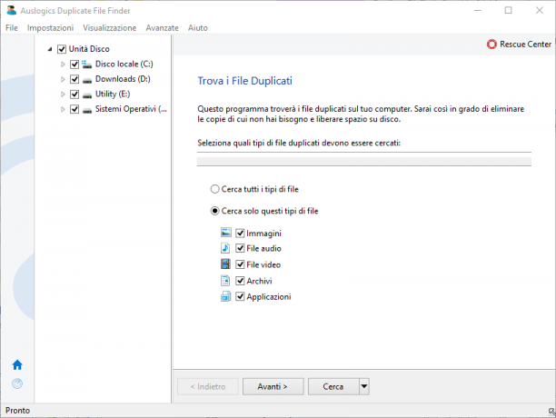 Auslogics Duplicate File Finder 8.2.0.4 - ITA