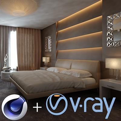 V-Ray Adv 3.70.02 for Cinema 4D R17-R20 - ENG