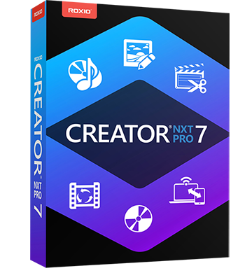Roxio Creator NXT Pro 7 v20.0.54.0 + Content Pack - ITA