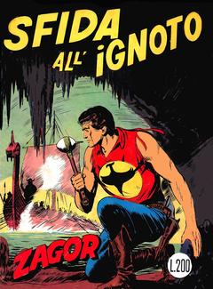 Zenith Gigante 114 -Zagor 063 - Sfida all'ignoto (1970)
