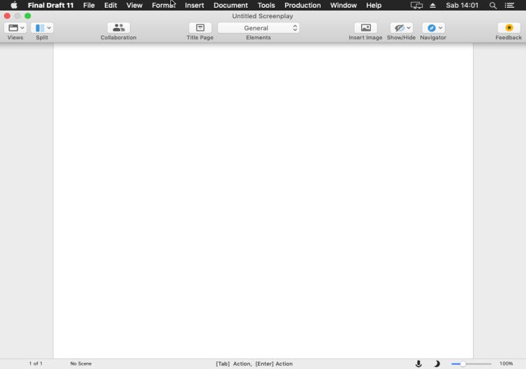 [MAC] Final Draft v11.0.2 macOS - ENG