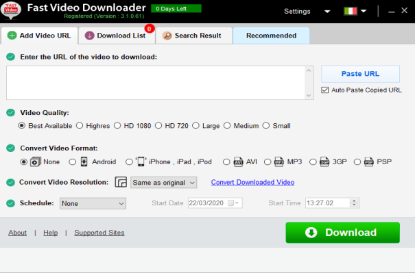[PORTABLE] Fast Video Downloader 3.1.0.61 Portable - ENG