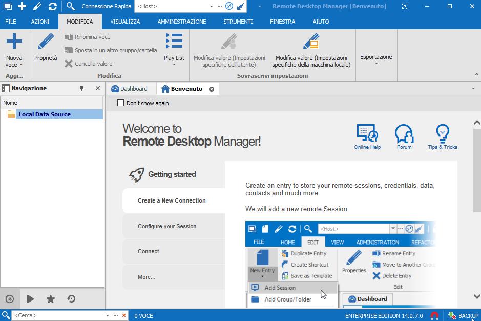 Devolutions Remote Desktop Manager Enterprise 2019.2.15.0  - ITA
