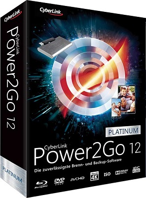 CyberLink Power2Go Platinum 12.0.1508.0 - ITA