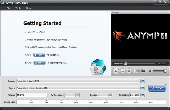 AnyMP4 DVD Copy 3.1.36 - ENG
