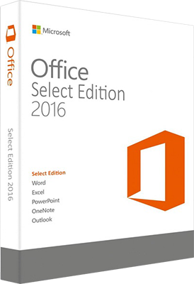 Microsoft Office 2016 Select Edition VL v16.0.4266.1003 AIO 2 in 1 - Ita