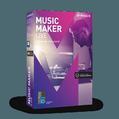 MAGIX Music Maker 2017 Live v24.1.5.119 + Content Pack - ENG