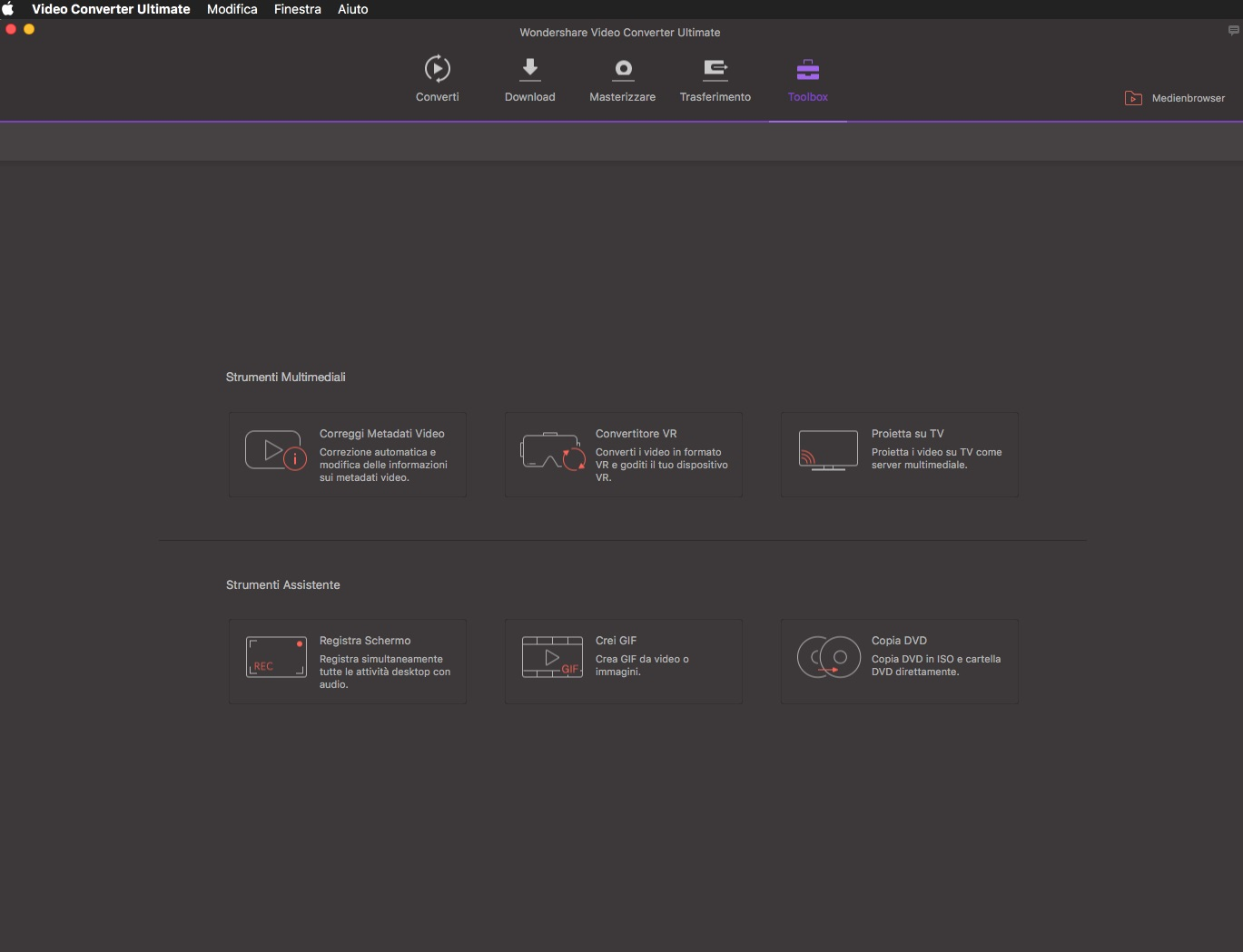 [MAC] Wondershare UniConverter v11.0.1.8 macOS - ITA