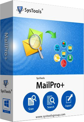 SysTools MailPro+ v1.0.0.0 - Eng