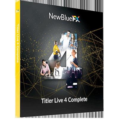 NewBlueFX Titler Live 4 Complete v4.0.190919 x64 - ITA