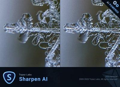 Topaz Sharpen AI v3.1.1 x64 - ENG