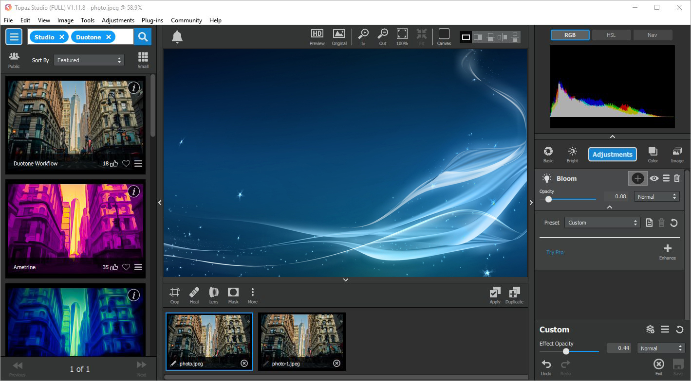 Topaz Studio v2.0.10 x64 - ENG