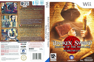 [WII] Broken Sword: Shadow of the Templars - The Director's Cut (2009) - ENG