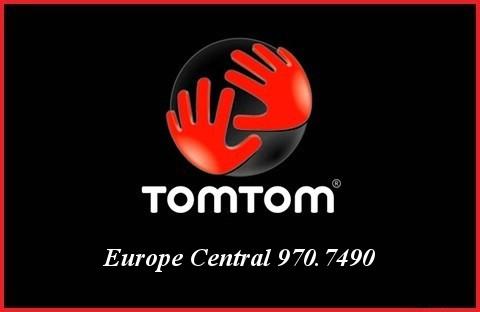 Tom Tom Europe Central 970.7490