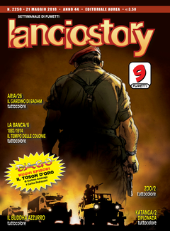 Lanciostory Anno 44 n. 2250 + Allegato Katanga 1. Diamanti (2018)