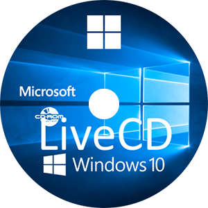 Microsoft Windows 10 Enterprise v1511 PE SE Live CD x64 - ENG