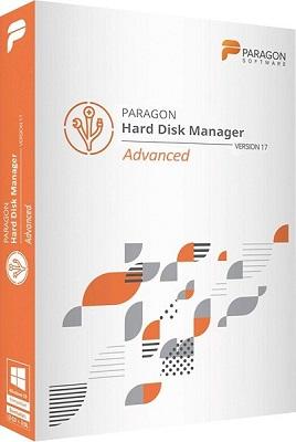 Paragon Hard Disk Manager 17 Advanced 17.10.12 + BootCD - ENG