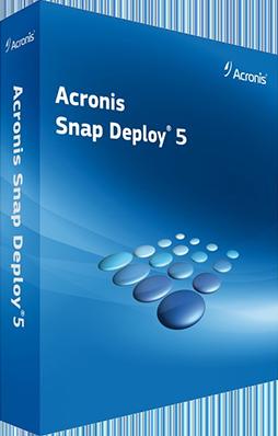 Acronis Snap Deploy v5.0.0.1971 + WinPE - ITA