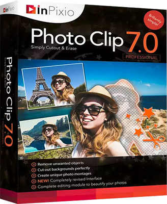 InPixio Photo Clip Professional v7.04 DOWNLOAD ITA