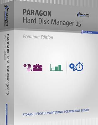Paragon Hard Disk Manager 15 Premium v10.1.25.1125 + Boot Media DOWNLOAD ENG