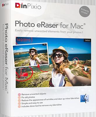 [MAC] InPixio Photo Eraser v1.1 MacOSX - ITA