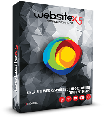 Incomedia WebSite X5 Professional v12.0.6.24 - Ita
