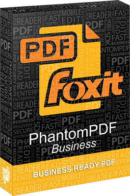 Foxit PhantomPDF Business v7.3.6.321 - Ita