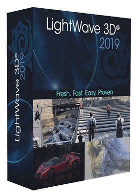 NewTek LightWave 3D 2019.1.2 Build 3131 x64 - ENG