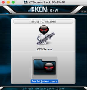 [MAC] KCNCrew Pack 15.10.2019 macOS - ENG