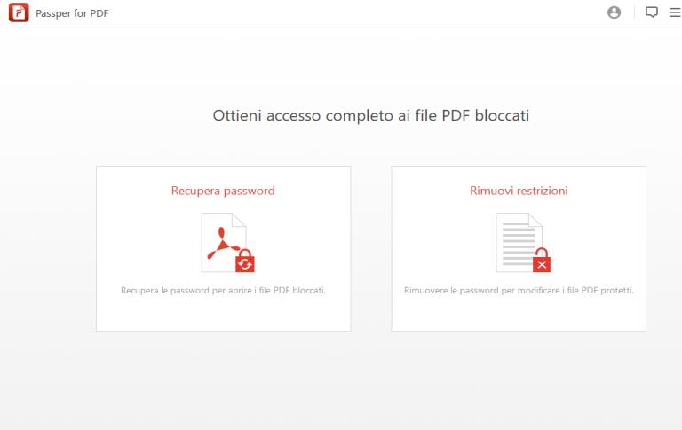 Passper for PDF v3.2.0.2 - ITA