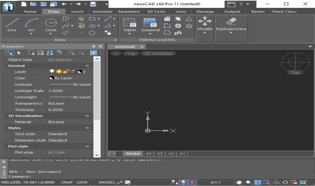 nanoCAD Pro 11.0.4761.8897 Build 4866 x64 - ENG