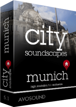 Avosound City Sounds - Munich Atmospheres