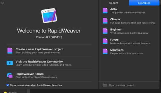[MAC] Realmac RapidWeaver 8 v8.1.4 macOS - ENG