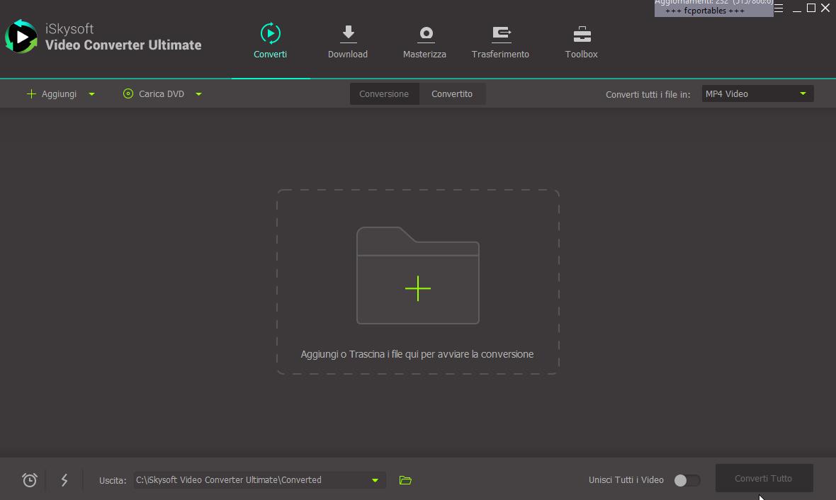 iSkysoft Video Converter Ultimate 11.0.0.204 - ITA