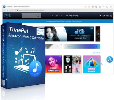 TunePat Amazon Music Converter 2.0.0 - ITA