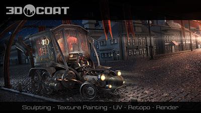 3D-Coat v4.8.35 64 Bit - Eng