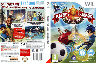 [WII] Academy of Champions: Football (2009) - ITA